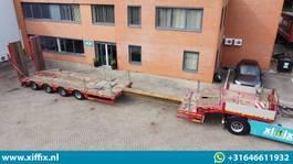 semi lowloader semi trailer Faymonville 4-ass. Uitschuifbare Semi-dieplader met dubbele hydr. kleppen // 3x gestuurd 2012