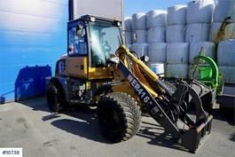 wheel loader EVERUN ER4 16 Wheel loader with Snow bucket and pallet fo 2019