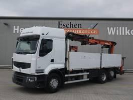 drop side truck Renault Premium 460 DXI, 6x2, Atlas 170.2 2012