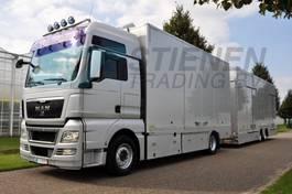 car transporter truck MAN TGX 18.440 4x2 LL-U Car transporter 2010