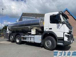 tank truck Volvo FMX 460 FMX460-6X2 HYDRODRIVE 16000L RVS ISO tank. 2 comp 2015
