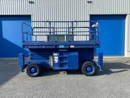 scissor lift wheeld Haulotte H 15 SDX, Schaar hoogwerker, 4x4, 15 meter 2000