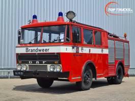 Feuerwehrauto DAF G 1600 DF 325 Oldtimer, Museum - Kronenburg Brandweer, fire, feuerwehr -... 1971