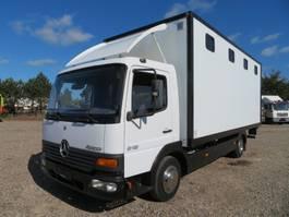 box truck Mercedes-Benz Atego 815 4x2 Motorsport / Horsetransport 2004