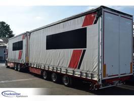 sliding curtain trailer Fliegl TTS250J + Scania R580 Euro 6, Truckcenter Apeldoorn 2014