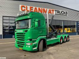 container truck Scania R560 V8 8x4 Retarder 2014
