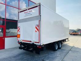 Kofferanhänger Möslein TK0105D-L Weiß Tandemkoffer, Ladebordwand + Durchladbar-- Neuwertig -- 2020