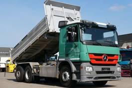 Wechselbrücken-LKW Mercedes-Benz Actros 2544 Wechsellader Kipper Sattelzug Retard 2011