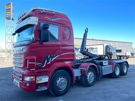 container truck Scania R560 8X4 2011