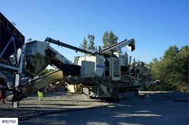 crusher Metso Lokotrack LT1100 Con crusher. 2007