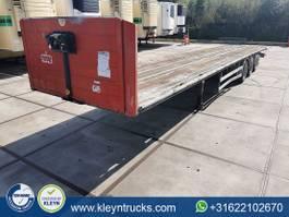 flatbed semi trailer Samro ST 39 2004