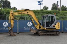 crawler excavator New Holland E80BMSR-2 2009