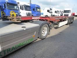 car transporter semi trailer Schmitz Cargobull SCF 24 G EURO,Highcube,multi,20,30,40,45 Higcube,schuiver,SAF schijfremmen 2007