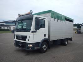 livestock truck MAN TGL 12.220 Kreaturbil 2015