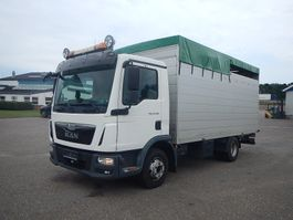 Viehtransporter-LKW MAN TGL 12.220 Kreaturbil 2015