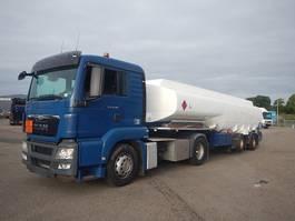tank truck MAN TGS 18.360 + HMK Tank trailer 2013