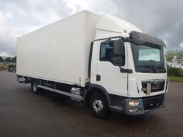 box truck MAN TGL 12.180 Euro-6 2015