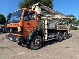 concrete pump truck Mercedes-Benz 2629K 6X4 STEEL SUSPENSION / MANUAL GEARBOX 1991