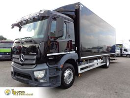 box truck Mercedes-Benz Antos 1824 + Euro 6 + Dhollandia Lift 2014