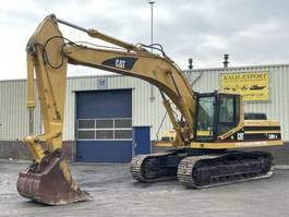 crawler excavator Caterpillar 330BLN Track Excavator Hammer Line Good Condition 1999
