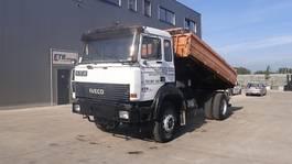 tipper truck Iveco Magirus 180 - 24 (GRAND PONT / SUSP. LAMES / V8) 1992