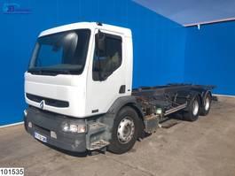 chassis cab truck Renault Premium 320 6x2, Manual, Telma 2001