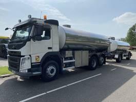 Tankwagen Volvo FM 420 6X2 - 14.500 LITER + ETA R2ED HANGER - 11.000 LITER - MILK TANKER 2016