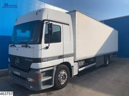 box truck Mercedes-Benz Actros 1831 EURO 2, Steel suspension, Telligent, 3 Pedals 2000