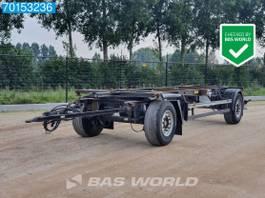 container chassis trailer Schmitz Cargobull AFW 18 2 axles 1x 20ft SAF BDF-Anhänger 2006