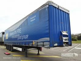 sliding curtain semi trailer Krone Semitrailer Curtainsider Standard 2015