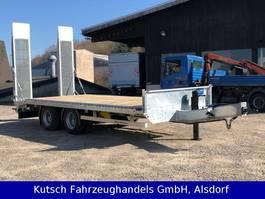 lowloader trailer Müller-Mitteltal ETÜ-TA-R 19 Tieflader Pateau