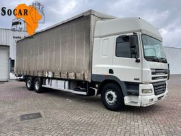 tilt truck DAF CF 85 MANUAL 6X2 euro 3 2001
