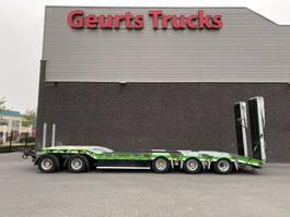 semi lowloader trailer Humbaur HTD 509525K SEMI DIEPLADER AANHANGER/TRAILER/ANHÄNGER 2016