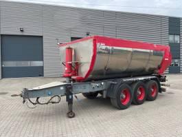 tipper semi trailer Kel-Berg 3-aks asfalt tipkærre 2013
