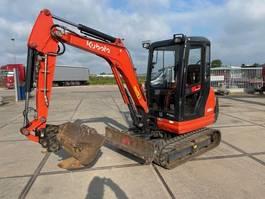 mini digger crawler Kubota KX 61-3 4 units on stock 2016
