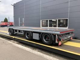 drop side full trailer Pacton ***NIEUW*** schamel aanhangwagen uitschuifbaar 2021