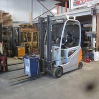 forklift Still RX 20-18 Elektrische heftruck Still RX 20-18, duplomast side shift 2012