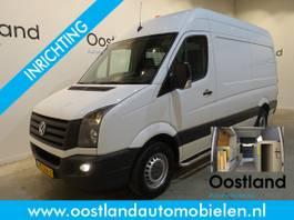 closed lcv Volkswagen 35 2.0 TDI L2H2 Servicebus / Sortimo Inrichting / Victron 220V. / Airco ... 2015