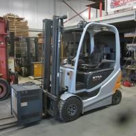 forklift Still RX60-25 Elektrische heftruck Still RX60-25, duplomast, side shift 2013