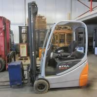 forklift Still RX 20-16 Elektrische heftrukc Still RX20-16, duplomast, side shift. 2006