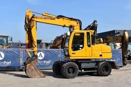 wheeled excavator Liebherr A314 2003