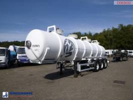 tank semi trailer semi trailer MAISONNEUVE Chemical ACID tank alu 24.3 m3 / 1 comp 1998
