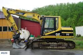 crawler excavator Caterpillar 312BL 2001