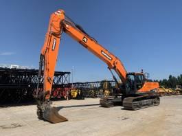 crawler excavator Doosan DX 300 LC LR 14M reach 2016
