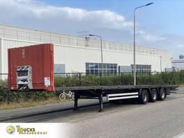 flatbed semi trailer Krone SD 27 + 3 AXLE 2006