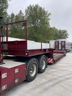 lowloader trailer Nooteboom Nooteboom  2 axle / extendable  / ramps 1998
