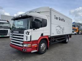 box truck Scania P 94 d 260 1997