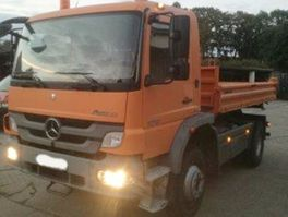 tipper truck Mercedes-Benz Atego 1018 AK 4x4 Atego 1018 AK 4x4 Schwingsitz 2011