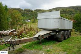 other full trailers Maur 3 axle tipper trailer. Repair object. 2003