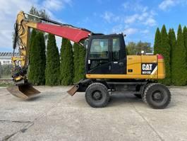 wheeled excavator Caterpillar M 313 D ENGCON 2012
